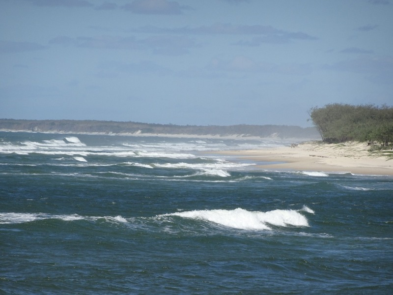 Sea by Bribie Island