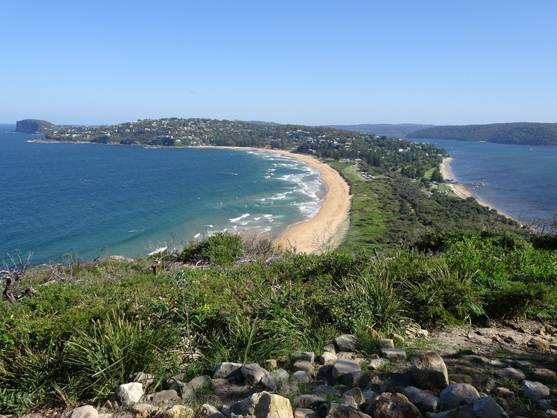 View from Barrenjoey lighthouse