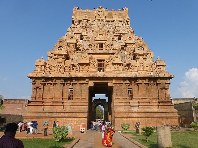 Big Temple - Nayak Gate (entrance)