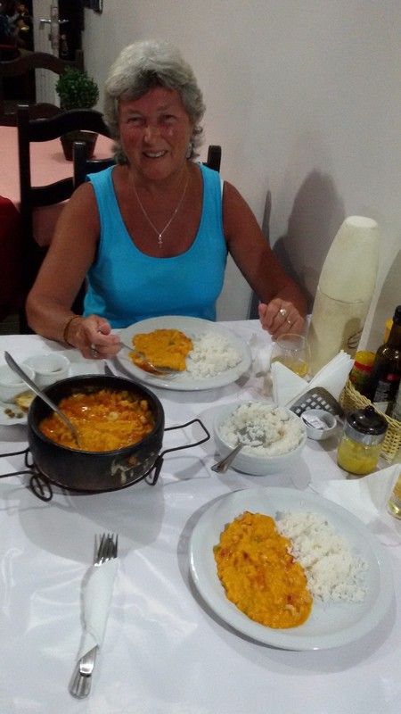 Bobo de Camarao (Prawn dish)