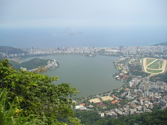 Corcovado - View of Lagao and Ipanema (by sea)