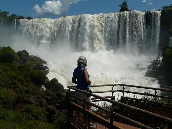 Iguazu Argentina San Martin Island Viewpoint