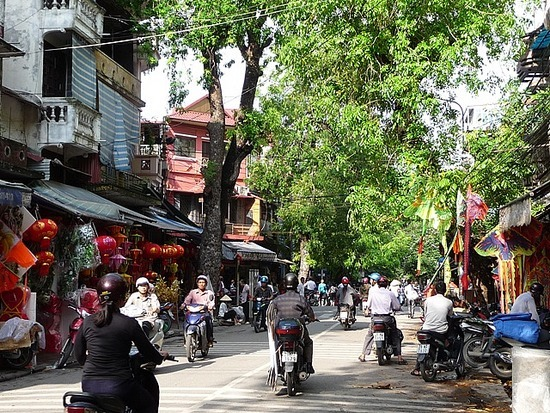 Old Hanoi with the sun shining 2
