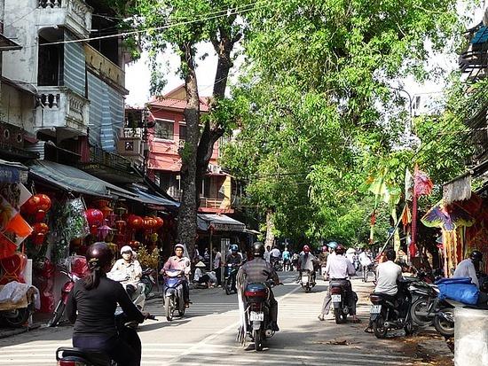 Old Hanoi with the sun shining 2