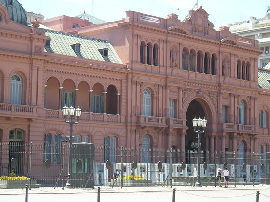 BA - Presidential Palace - Evita Peron was here!