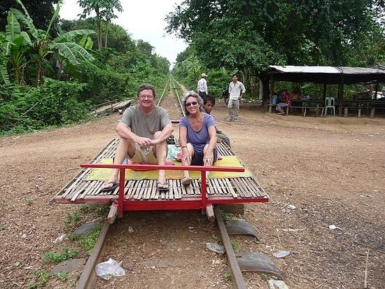 Tuk-tuk outing - Bamboo train 1