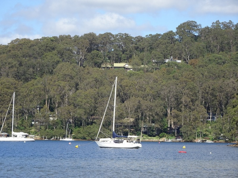 Pittwater YHA from the water