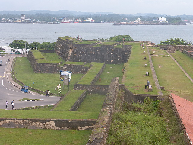 Galle Fort - northern ramparts
