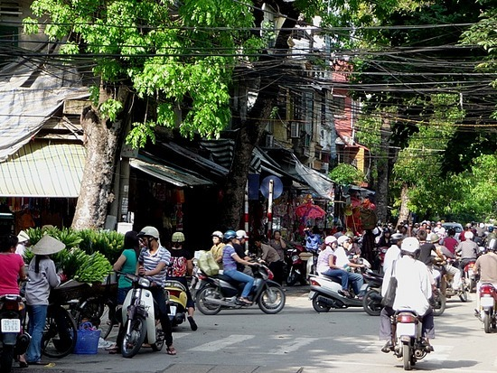Old Hanoi with the sun shining 3