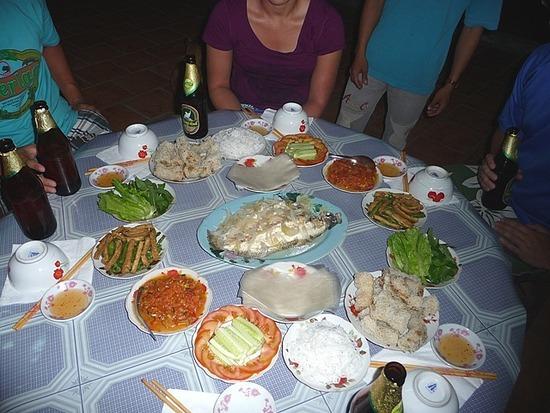 Homestay - Dinner - delicious!