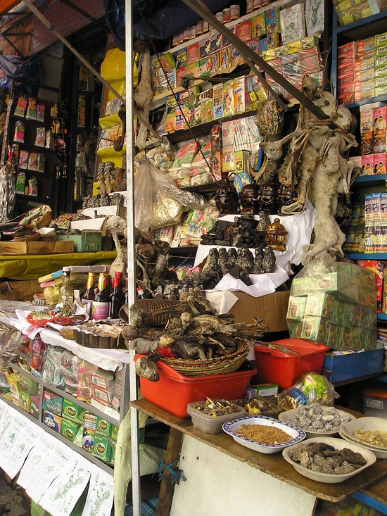 La Paz - Witches Market stall