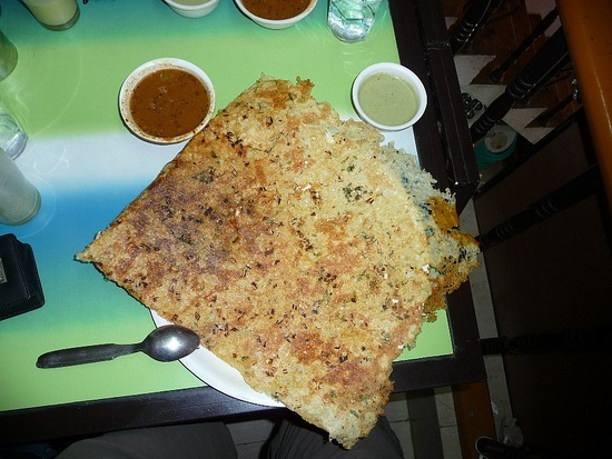 Food and Drink - Massala Dosa - Snack