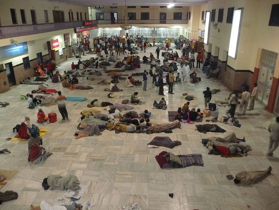 Jodhpur Railway Station Hall 05h30!