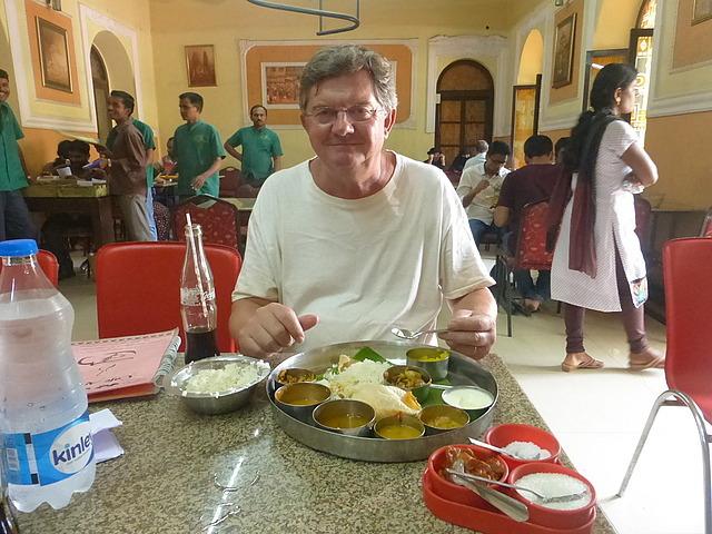 Excellent thali - Cafe Aramane