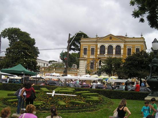 Curitiba - Historic area - Sunday market 2