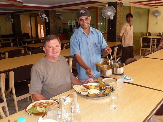"Food and Drink - Thali - ""More Sir?"" !"
