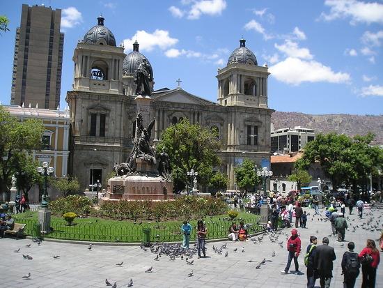 La Paz - Plaza Murillo 2