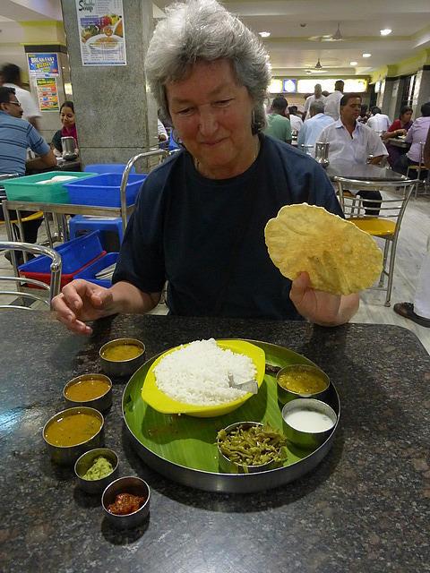 """South Indian """"Limited Meal"""" (Thali)"""