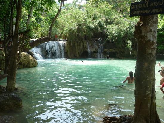 Kwang Si Waterfalls 2