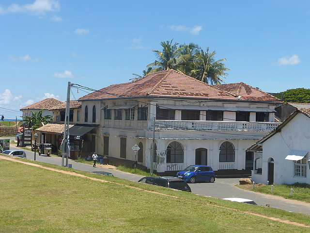 Galle Fort - building