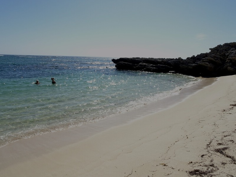 Rottnest - City of York beach to ourselves!