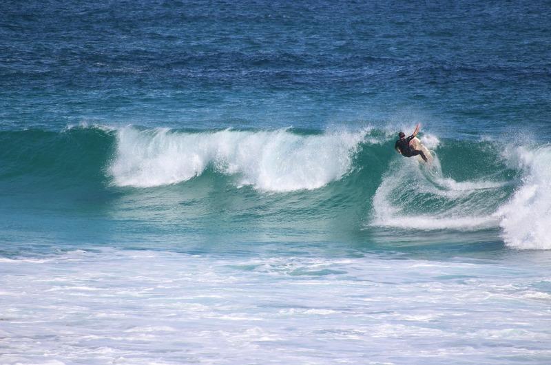 Redgate Beach - Surfer
