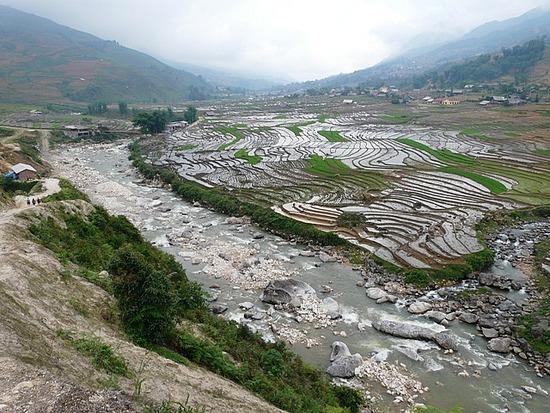Ta Van trek - River and rice terraces