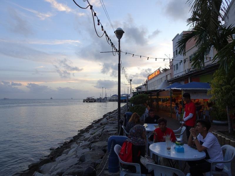 Waterfront - sundown