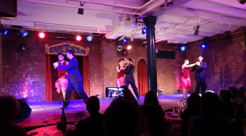 Cafe Tortoni Tango Show