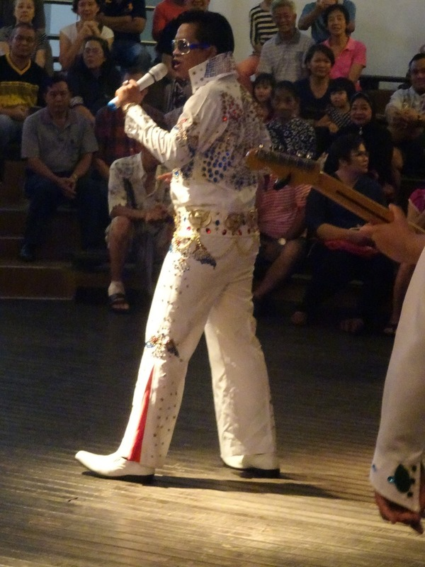 Waterfront - Elvis impersonators competition