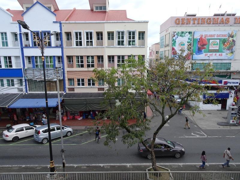 Main street opposite May Fair hotel