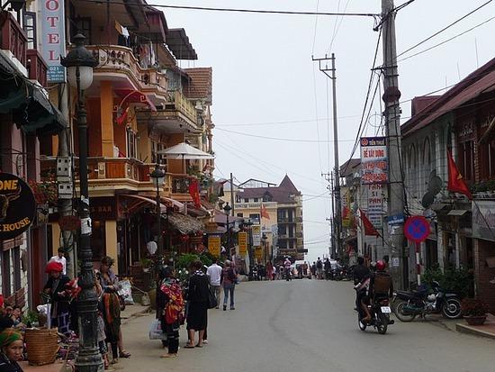 Sapa Town - Main street