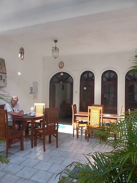 Guest house - breakfast time