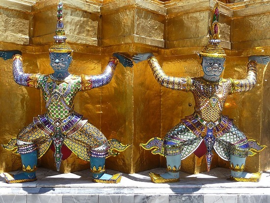 Wat Phra Keo and Grand Palace 13
