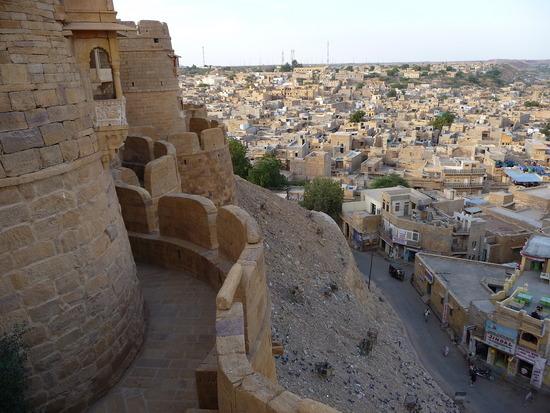 Town from Jaisalmer Fort