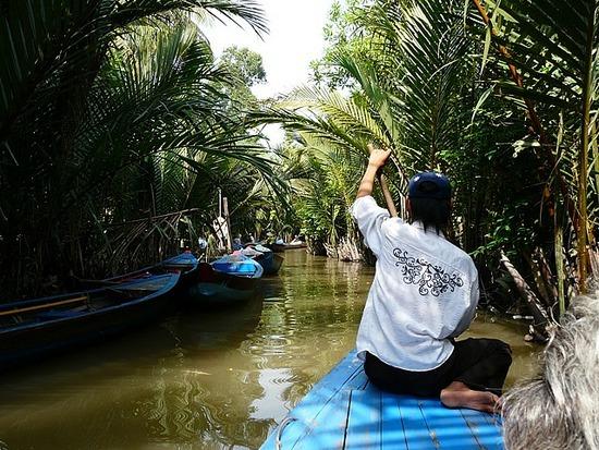 Mekong Waterways near My Tho 6
