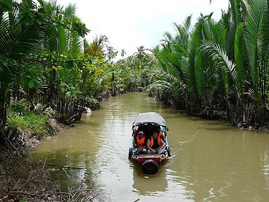 Mekong Waterways near My Tho