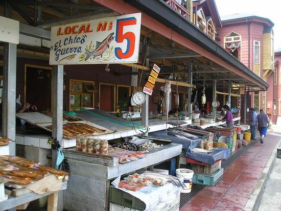 Angelmo Fish stalls