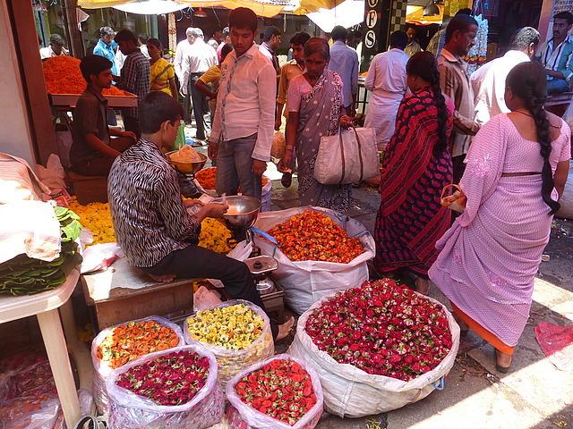 Devajera market - morning