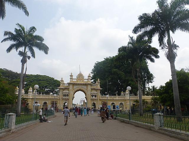 Mysore Palace - South entrance