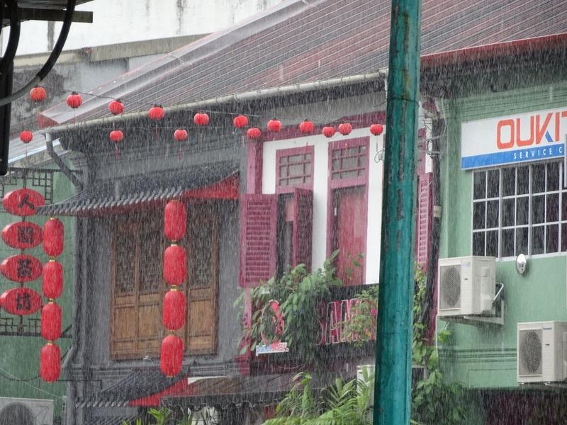Around Kuching 2 - when it rains...