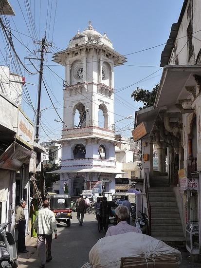 Around Udaipur town - Clock Tower