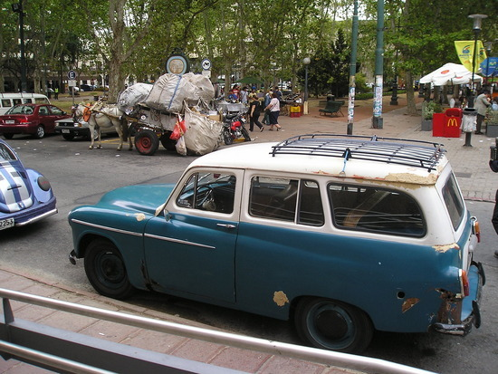 """Montevideo - Car and """"Steptoe"""""""