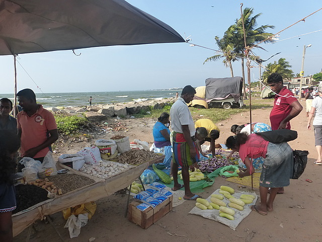 Negombo town market by the sea 2