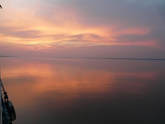 Amazon Boat - Sunset 2