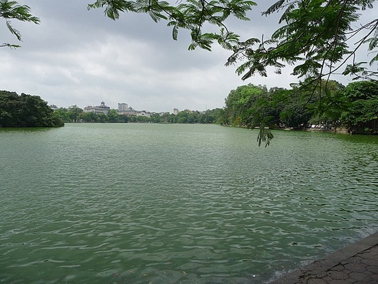 Lake near Old Town
