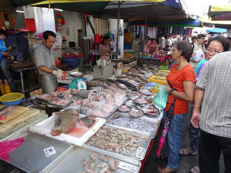 Street scene - Chowrasta Market area