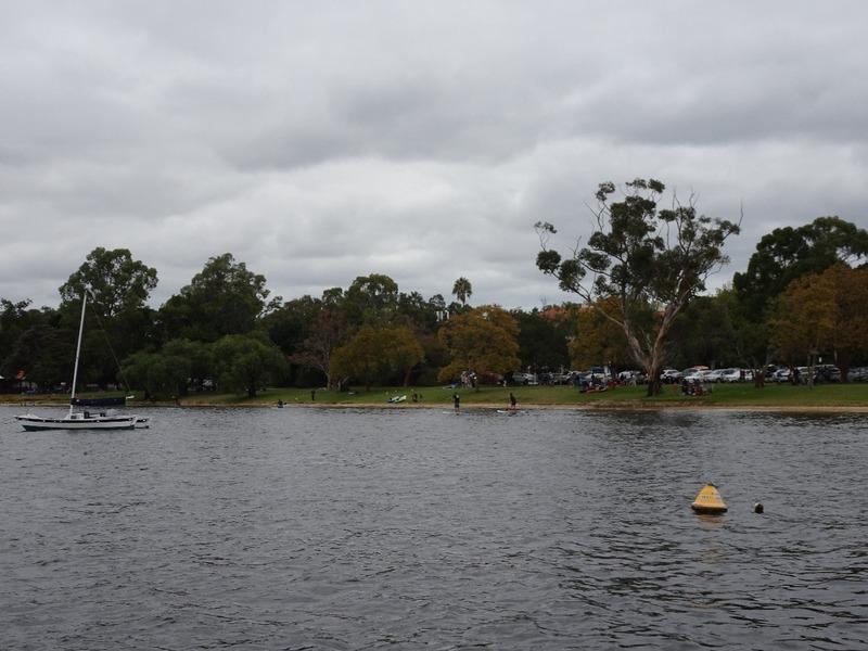 Boat outing up Swan river - Matilda Bay mooring