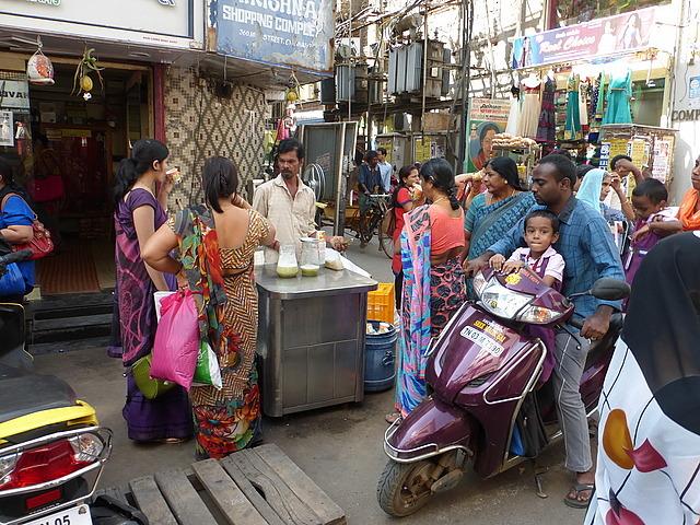 Mint Road sugar cane drink seller