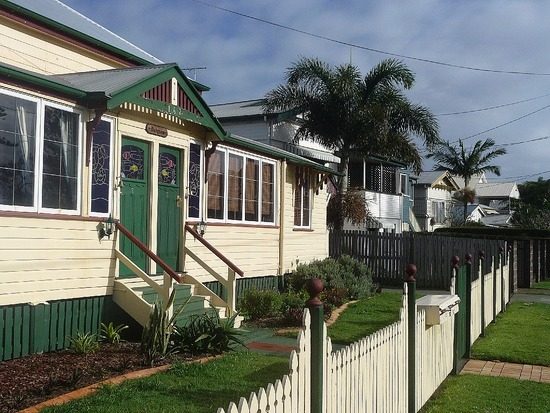 Typical Sandgate House - we stayed in unit there